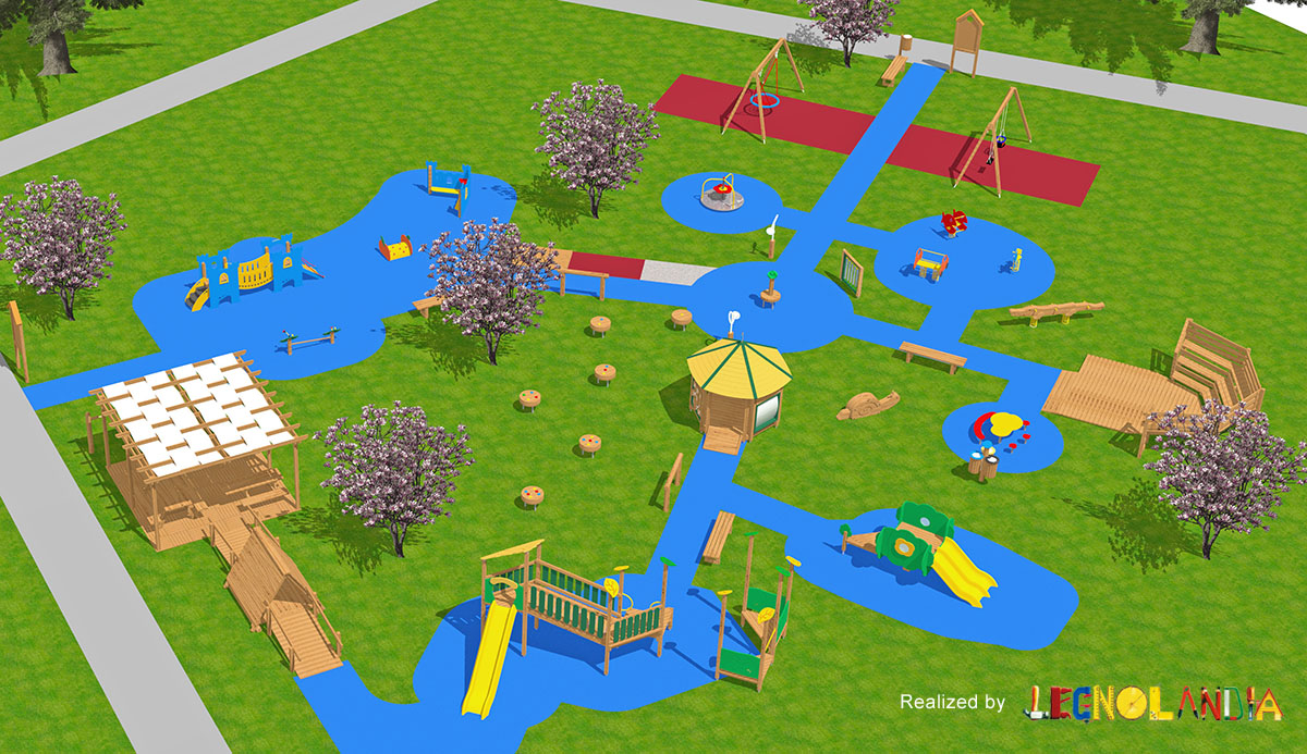 Giochi Da Fare In Giardino parchi giochi inclusivi | legnolandia