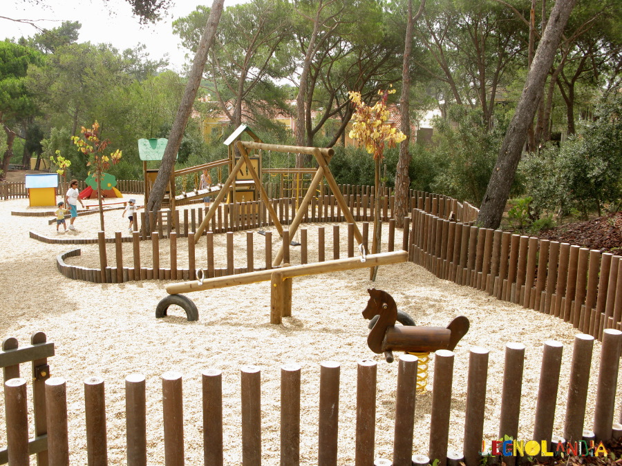 Wood in Playgrounds
