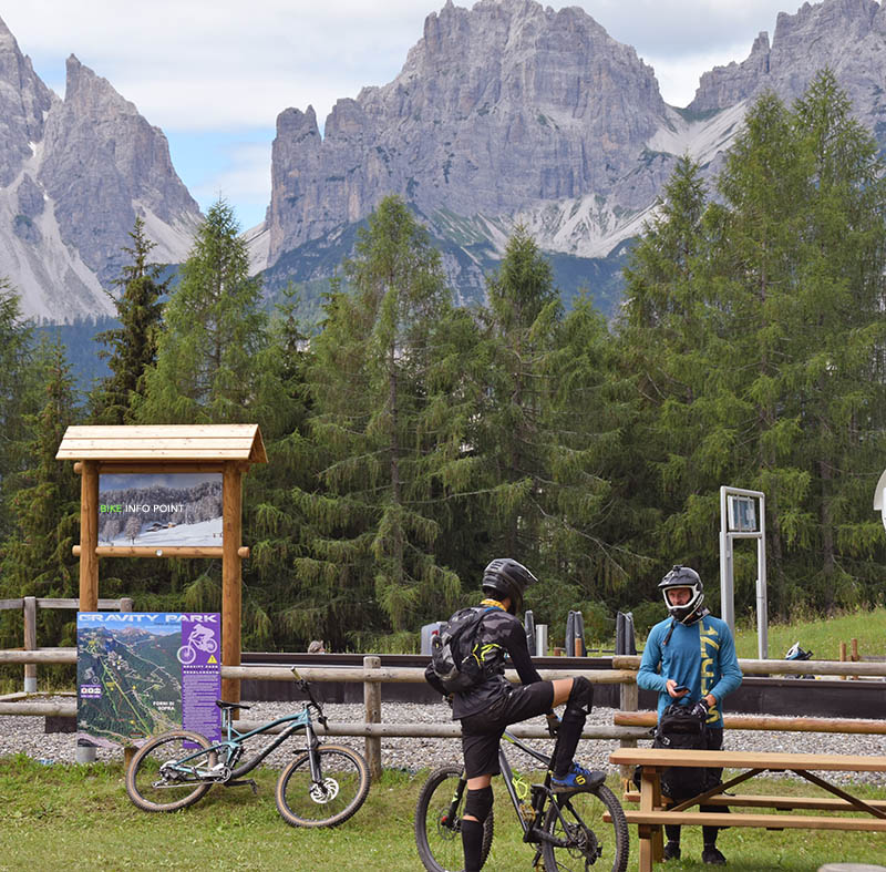 mtb equipment info point legnolandia