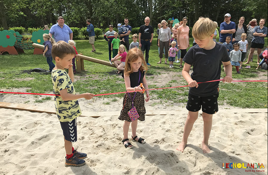In Denmark a brandnew sustainable playground