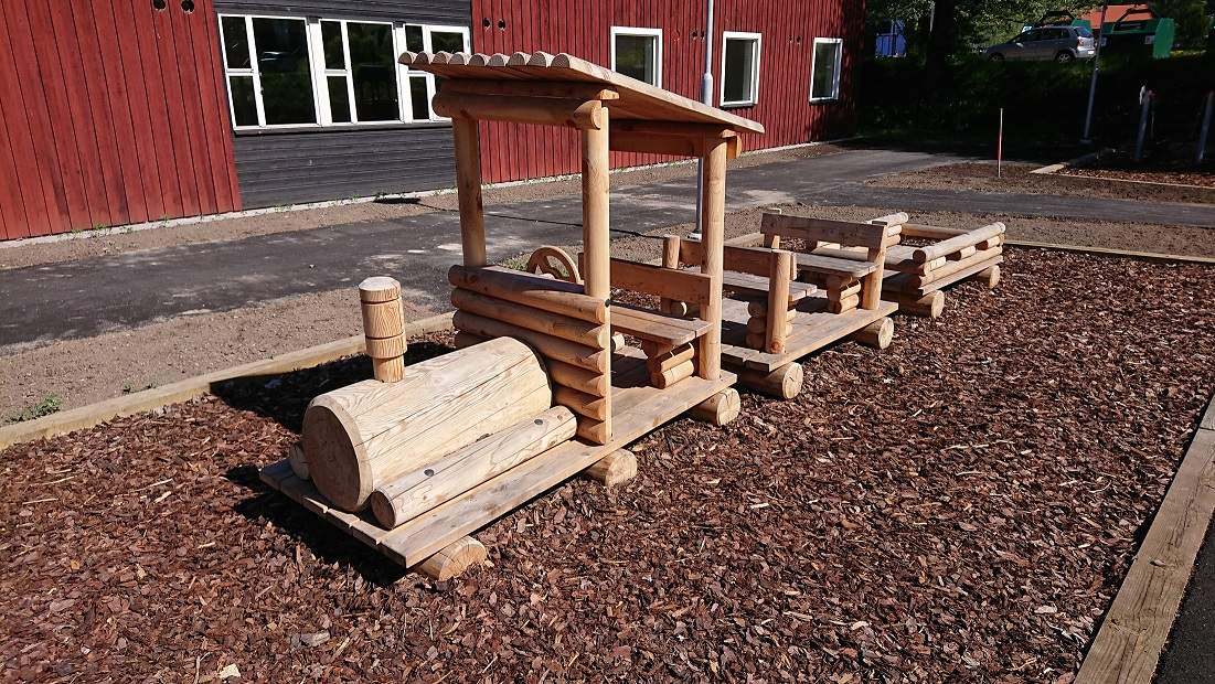 Sweden chooses the symbolic playgrounds