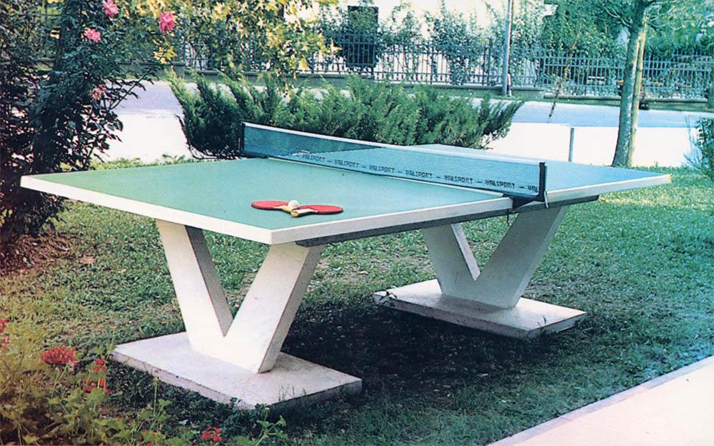 Tavolo Ping Pong Da Esterno | Impianti ginnici e sportivi ...