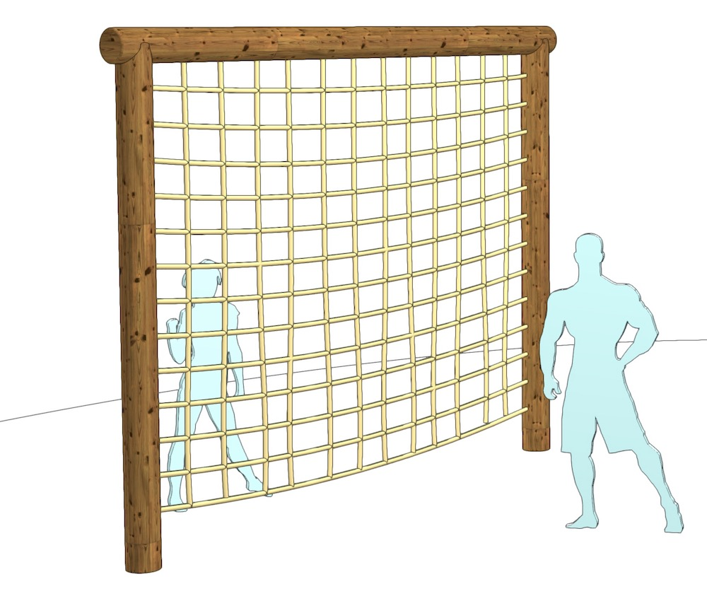 Strong Track Cargo Net