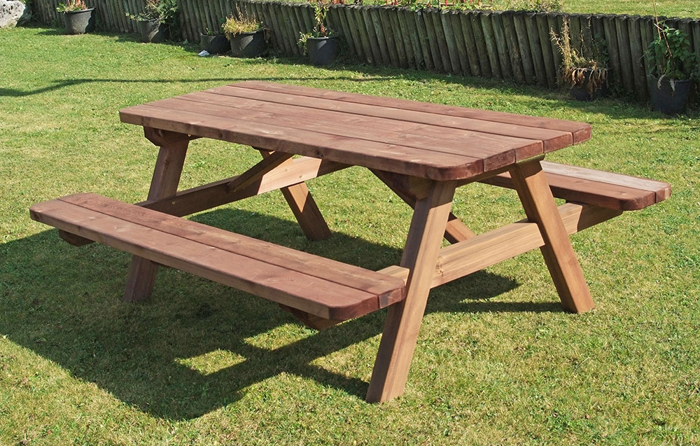 Tavolo Con Panca Per Esterno.Pic Nic Senior Progetto Per Parco Inclusivo Grande Arredi