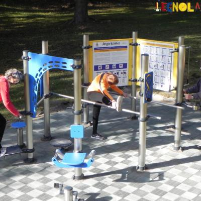 Legnolandia Playgrounds Fitness 091